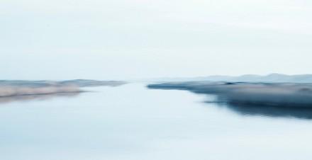 Duinen, water, gras in Agger Tange Jutland