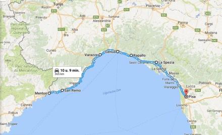 6 - Menton__Frankrijk_naar_Pisa__Italië_-_Google_Maps