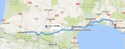 14 - Lourdes__Frankrijk_naar_Marseille__Frankrijk_-_Google_Maps