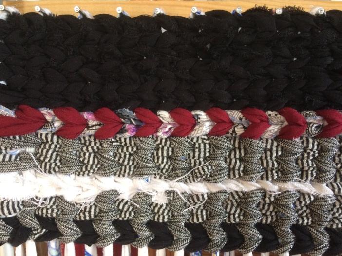 voddenkleed zwart-grijs-wit