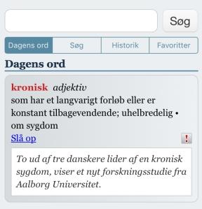 kronisk sygdom, forskningsstudie Aalborg Universitet
