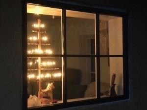 kerstverlichting, kerstlampjes, kerstboom