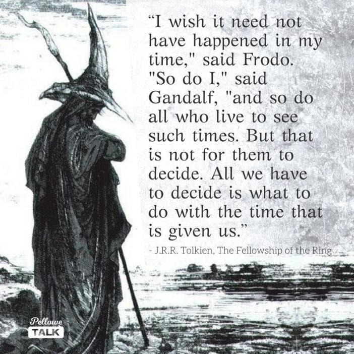 Tolkien spreuk